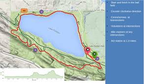 Race Map Lake Padden Trail Half Marathon