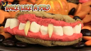 dracula u0027s teeth halloween cookies recipe youtube