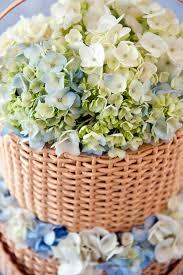 Wedding Cake Island Blue Hydrangea Wedding Cake Topper Elizabeth Anne Designs The