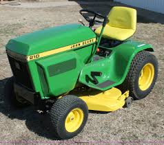 john deere 210 lawn mower item w9382 sold wednesday apr