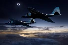 Chasing The Total Solar Eclipse From Nasa U0027s Wb 57f Jets Nasa