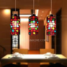 Lights For Bedroom Light Colorful Glass Blown Pendant Lights For Bedroom