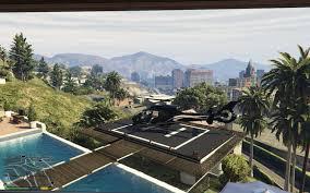Ex Machina Mansion by Franklin U0027s Heliport Gta5 Mods Com
