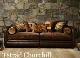 Fabric Or Leather Sofa Sofa Leather And Fabric Combined Www Energywarden Net