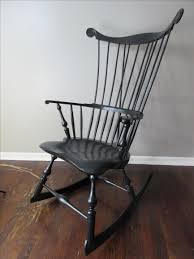 High Back Windsor Armchair Hand Crafted Comb Back Windsor Rocking Chair By Luke A Barnett