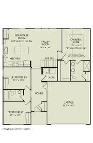 alexander 103 drees homes interactive floor plans custom