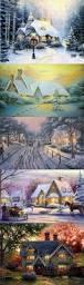 Thomas Kinkade Christmas Tree For Sale by 420 Best Kinkade Images On Pinterest Christmas Art Christmas