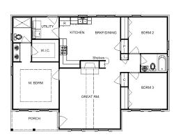 Single Story Open Concept Floor Plans 204 Best Bill Beazley Floor Plans Images On Pinterest