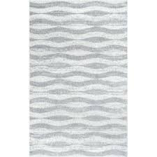 Gray And White Area Rug Gray Silver Rugs You Ll Wayfair