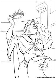 tangled coloring picture coloring pages color