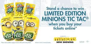 where to buy minion tic tacs tgv cinemas stand a chance to win limited edition minions tic