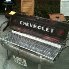 Bench Made From Tailgate Click To Close Image Click And Drag To Move Use Arrow Keys For