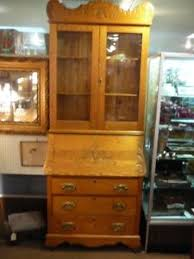 brass key secretary desk s38 antique carved oak slant lid secretary desk original brass key