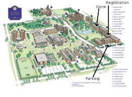 Harvard Campus Map Illinois State University Campus Map College Visits Pinterest