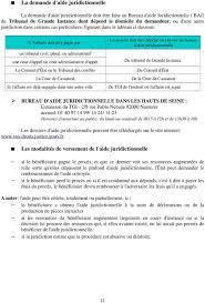 bureau d aide juridictionnelle versailles l aide à l accès au droit dans les hauts de seine pdf