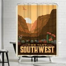 Southwest Shower Curtains Southwest Shower Curtain Wayfair