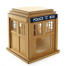 Unique Cat Furniture Dr Who Tardis Cardboard Cat Houseunique Cat Furniture Cat