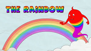 how a rainbow is formed the rainbow lesson for kids youtube