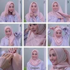tutorial hijab resmi 5 tutorial hijab laudya cynthia bella simple untuk sehari hari dan