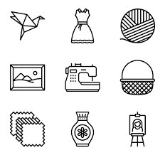 What Hobbies To Put On Resume Hobby Icons 695 Free Vector Icons