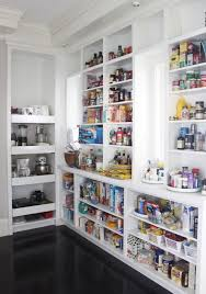 Kitchen Pantry Organization Systems - pantry shelving systems contemporary kitchen organization with