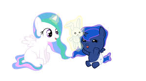 image baby cellestia playing with baby luna by artist