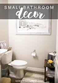 bathroom decorating ideas for small spaces how to decorate a small bathroom decor ideas and tips somewhat