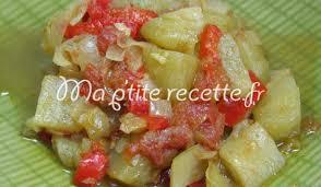 comment cuisiner des chayottes chayotte au poivron recette accompagnement chayotte