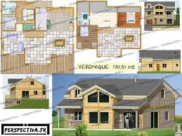 plan maison 4 chambres etage plans et modèles gratuits de maisons individuelles en bois à télécharger