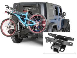 jeep mountain bike bikes bike rack for jeep wrangler with oversized tire thule bike