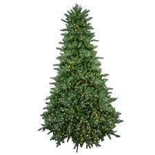 9 ft pre lit led foxtail fir artificial tree