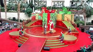 shreck christmas program in opryland hotel nashville tn youtube