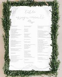 wedding reception seating chart 25 unique wedding seating charts to guide guests to their tables