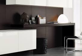 Weisser Hochglanz Schreibtisch Schrankwand Weis Eiche Möbel Ideen Und Home Design Inspiration