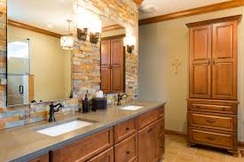 Interior  Stacked Stone Backsplash Faux Stone Faux Stone Sheets - Layered stone backsplash