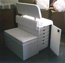 Marine Storage Cabinets Custom Boat Cabinets U0026 Custom Boat Seating At Arrigoni Design