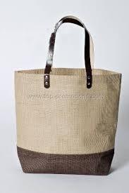 burlap bags wholesale wholesale belize two tone burlap jute tote bag fob china us 0 3