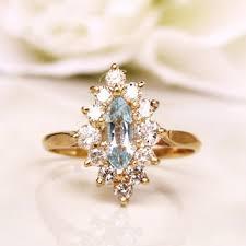 wedding ring alternative shop vintage marquise diamond ring on wanelo