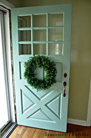 country style front door
