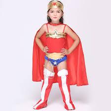 Superman Toddler Halloween Costume Chingrosa Baby Girls Red Jumpsuits Superhero Fantasia