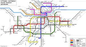 Map Of Ottawa Public Transit In Ottawa A Dream Transit Plan For Ottawa