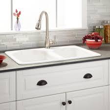 Kitchen Undermount Sinks Kitchen Undermount Sink Porcelain Farmhouse Sink With Drainboard