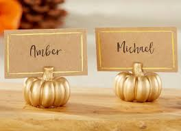 thanksgiving name card holders 50 fall decor ideas to buy for less than 30 bob vila