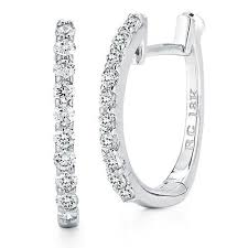 baby diamond earrings roberto coin diamond baby hoop earrings 000466awerx0