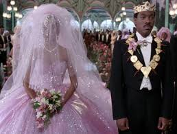 king mcdowell at wedding coming to america costume