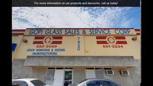 Window Glass Repair Miami Gopi Glass Sales U0026 Service Miami Fl Glass Youtube