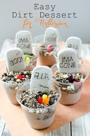 easy dirt desserts for halloween u2022 really are you serious