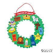 advent wreath kits religious christmas crafts trading