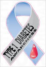 diabetes ribbon ribbon diabetes awareness 1 0 stickit2themax