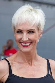 broadway star amra faye wright sports a fabulous silver pixie with
